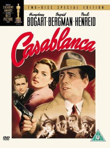 Casablanca 2-Disc DVD Cover