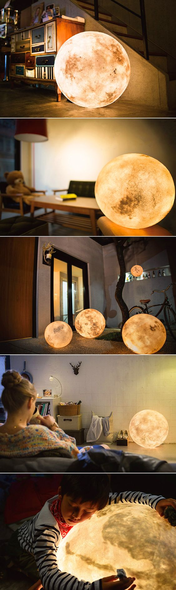 Light/Lamp that looks like the moon