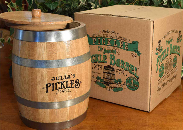 Pickle Barrel for Aging Pickled Things
