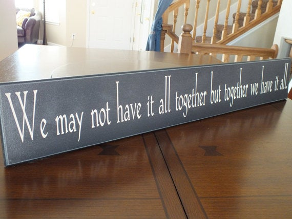 Romantic Quote Plaques & Signs