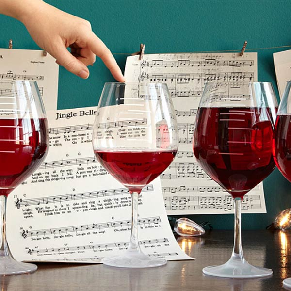 Wine Glass Music Set