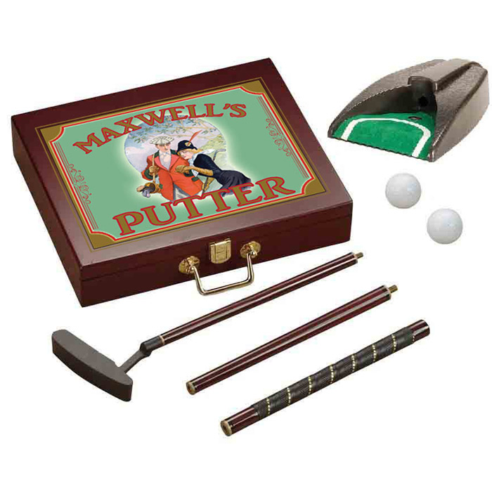 Personalized Putter Gift Set