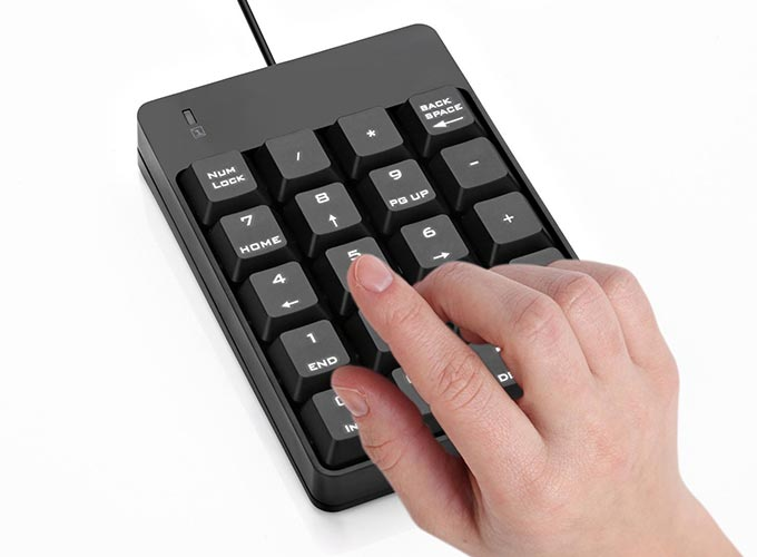 CPA Gift Ideas - Numeric Keypad