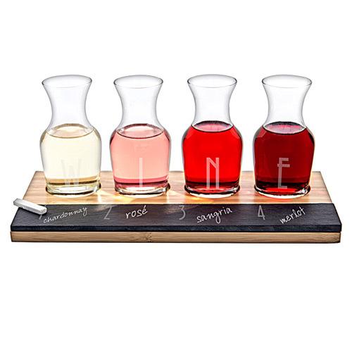Wine & Chalkboard Taster Set