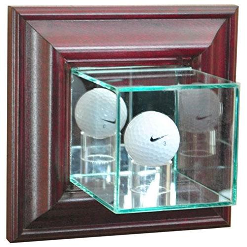 Glass Golf Ball Display