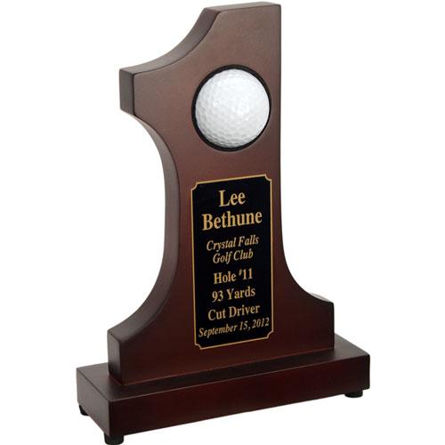 #1 Golf Ball Display