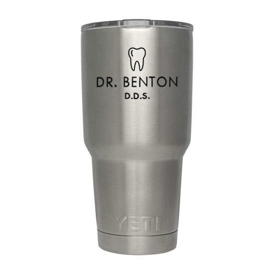 Yeti Tumbler for dentist