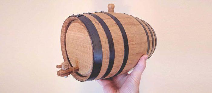 Oak Aging Barrels