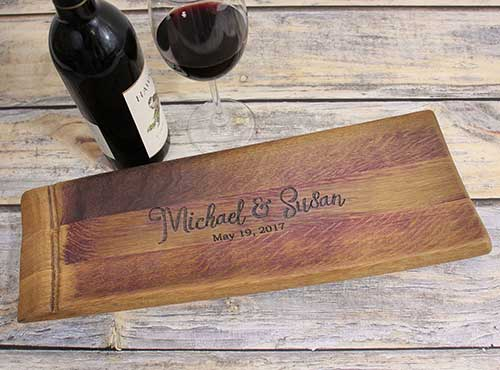 Personalized Barrel Stave Gifts