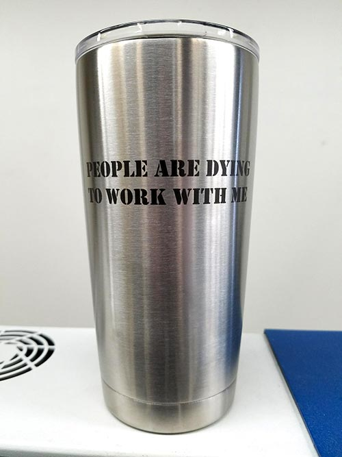 Custom Engraved YETI Tumbler