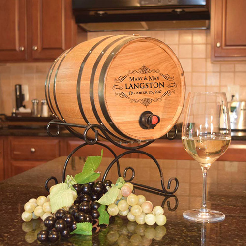 Personalized Barrel Gift Guide