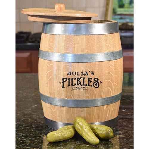 Pickle Aging Barrel
