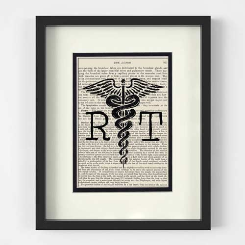 Framed Art Gift For Radiologist