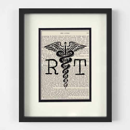Framed Art Gift For Radiologist