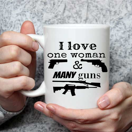 Gun Collector Gift Idea Coffee Mug