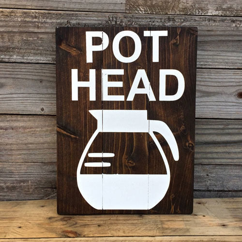 Wood Coffee Bar Decor Sign