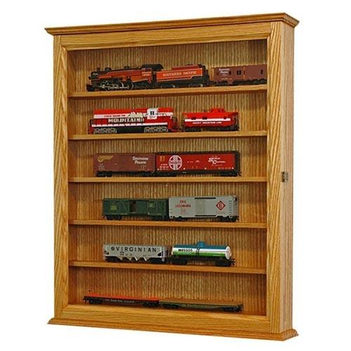 Model Train Engine Display Case