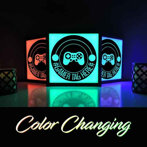 Color changing lights for your game room