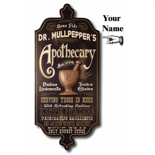 Pharmacist Plaque - Pharmacy Gift Ideas