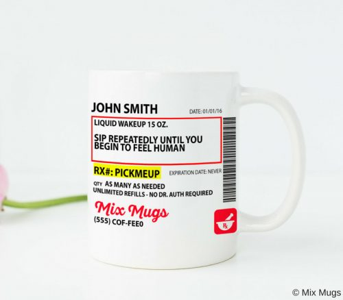Pharmacy Gift Coffee Mugs