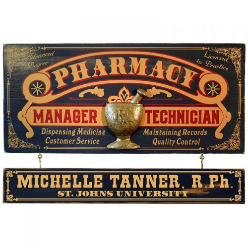 Pharmacist Gift Idea Sign