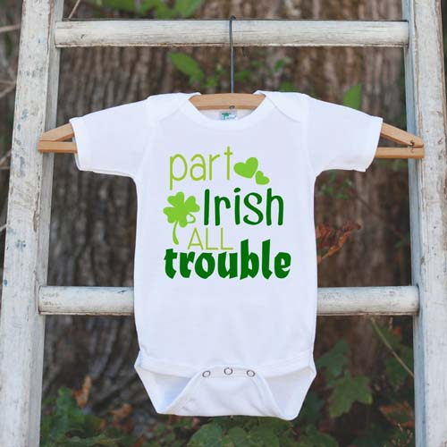 Irish Baby Outfit: Part Irish, All Trouble