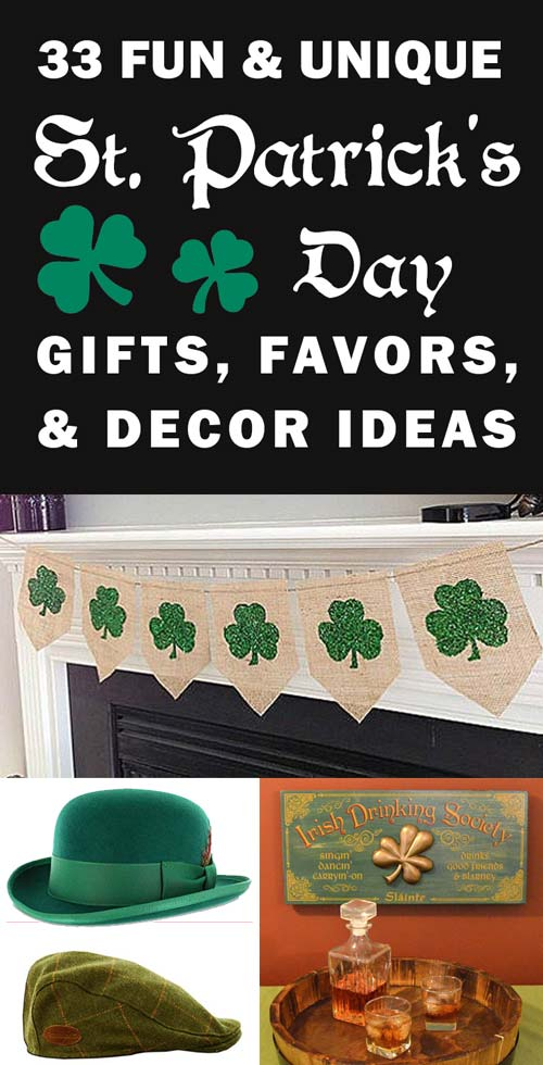 Gift ideas for St. Patrick's Day