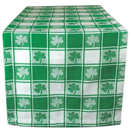 Irish Shamrock Tablecloth - St Patrick's Day Party Decor