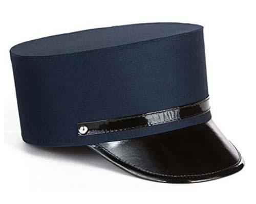 Classic Blue Train Conductor Hat