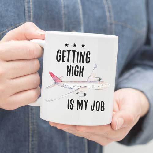 Airplane Pilot Coffee Mug Gift Idea