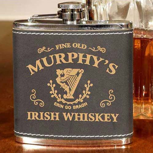 St Patrick's Day Gift Ideas - Irish Whiskey Flask