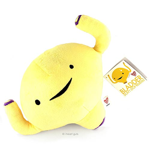 Urology Gift Ideas: Don't Stop Relievin' Bladder Plush