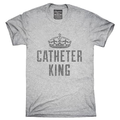 Urology Gift Ideas - Catheter King T-Shirt