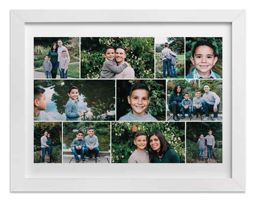 Anniversary Gift Idea - Family Photo Collage