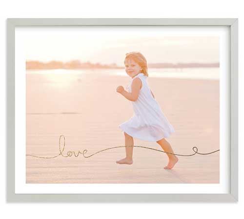 Framed Art Print - Love