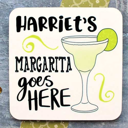Margarita Gifts - Custom Coaster