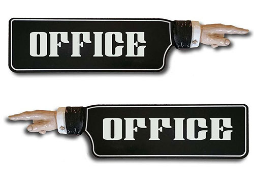 Urology Office Gift Ideas - Office Pointer Directional SIgn