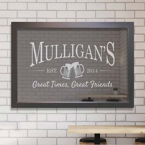 Personalized Home Bar Accents and Gift Ideas