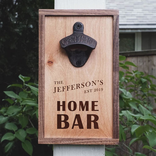 Personalized Home Bar Decor Accents That Won't Break The Bank