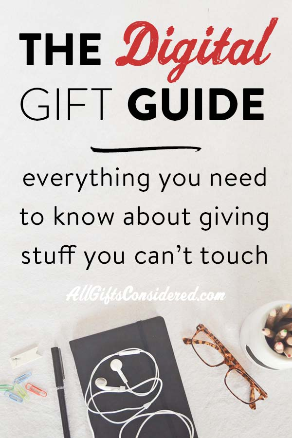 The Digital Gift Guide: How to give ebooks, audiobooks, movies, & more