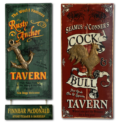 Personalized Home Bar Decor