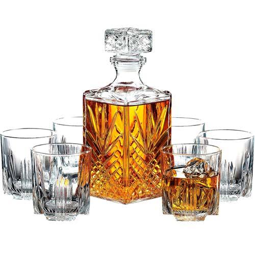 Architect Gift Ideas: Whiskey Decanter Set