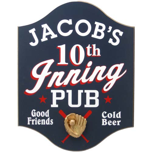 Personalized 10th Inning Pub
