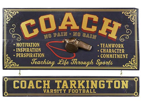 Wall Decor Gifts for Coaches