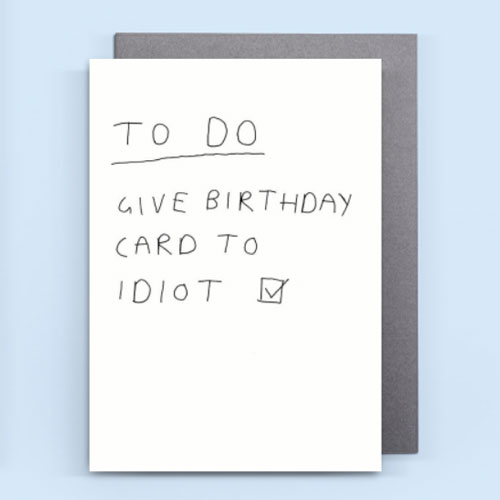 Funny Birthday Card Quotes