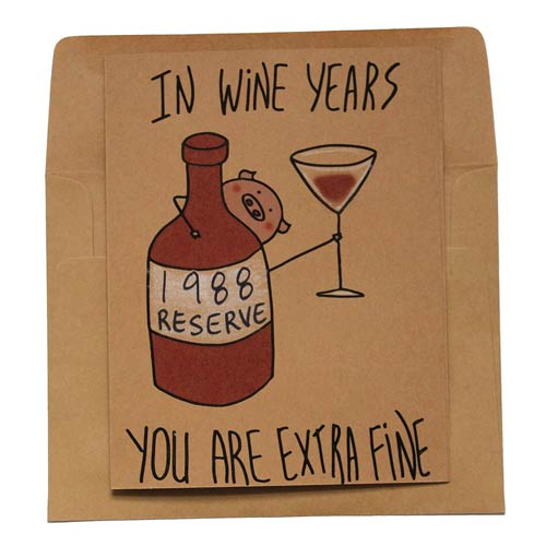 Funny DIY Birthday Card Ideas - Fine Wine