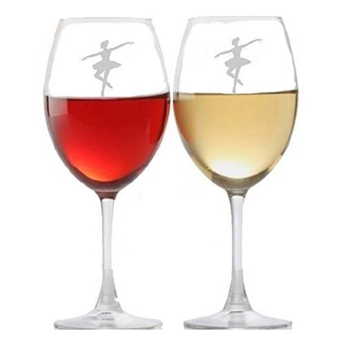 Wine Glasses for a Ballet Instructor