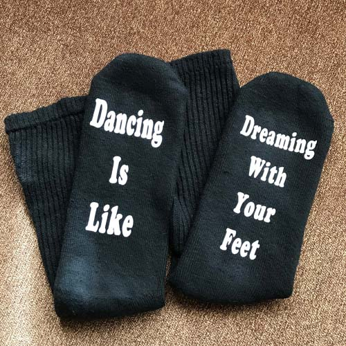 Ballerina Socks - Funny Ballet Teacher Gifts