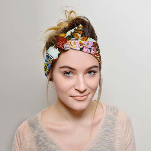 Floral Boho Headband for Ballet Instructor