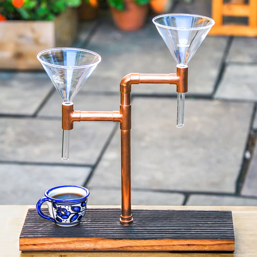 Coffee Pourover for a great Firefighter Gift Idea!